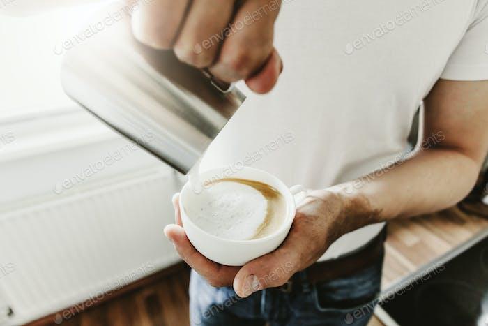 Kaffeekochen mit Kaffeevollautomat