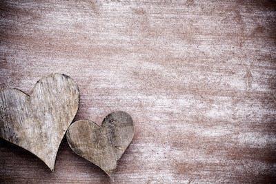 Rustic heart.