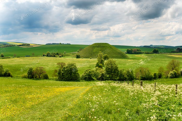 The mysterious Silbury Hill