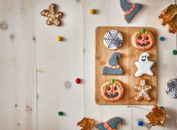 Halloween! Sweets and cookies