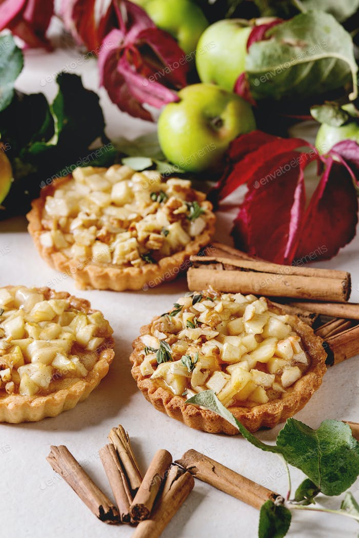 Sweet apple tartl