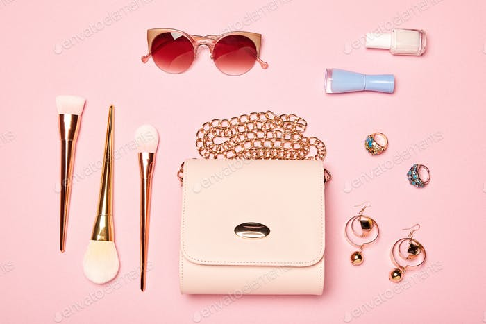 Fashion lady accessories set