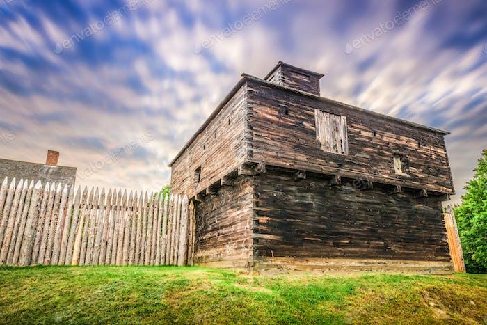Fort Western, Augusta, Maine