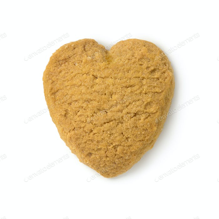 Traditional dutch  heart shaped butter cookie