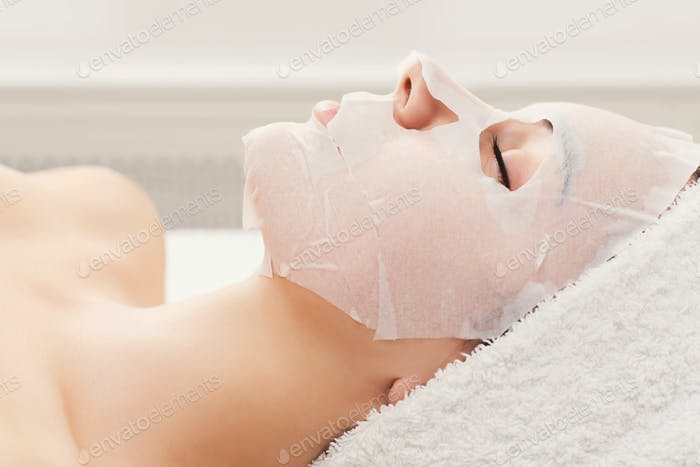 Face mask, spa beauty treatment, skincare