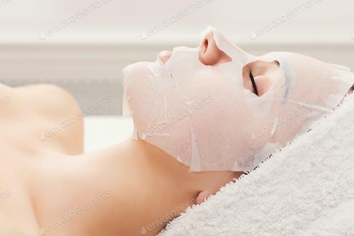 Gesichtsmaske, Spa-Beauty-Behandlung, Hautpflege
