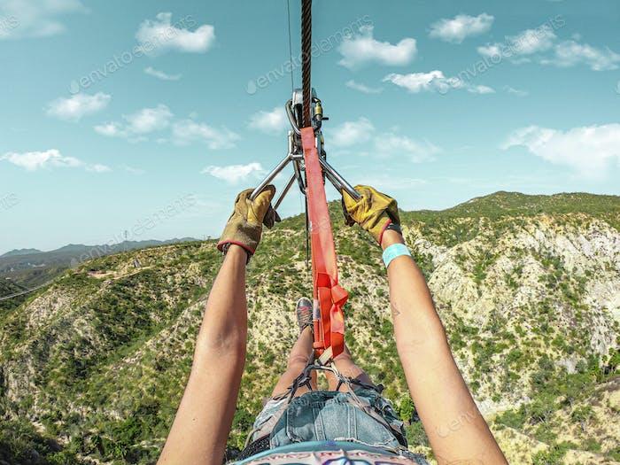 Zipline en Los Cabos Mexico