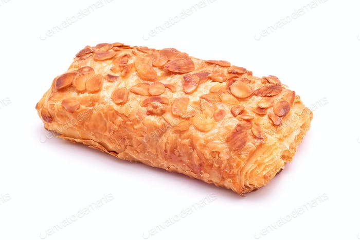 Almond puff pastry dessert