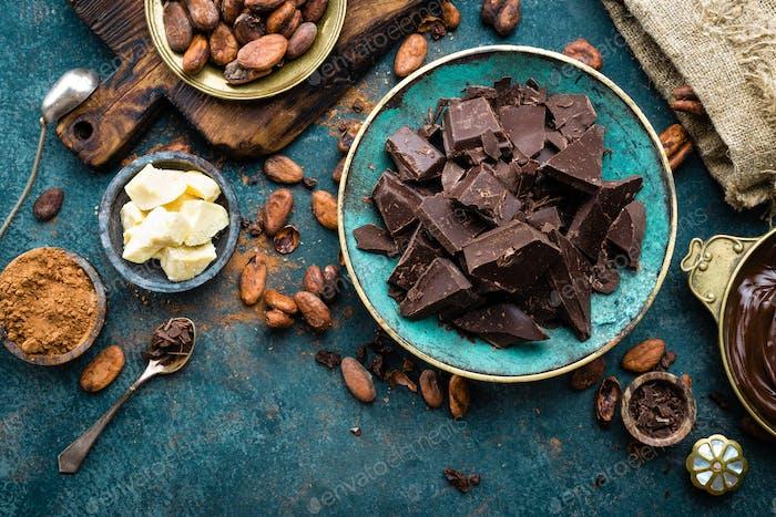 Chocolate. Dark
