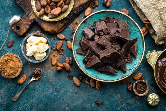 Chocolate. Oscuro