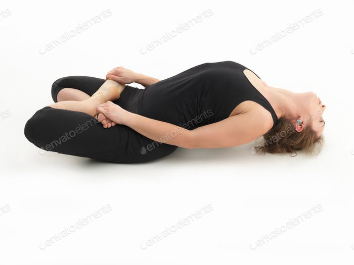 relaxion yoga posture