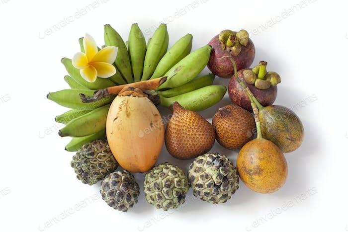 Tropical assorted fruit