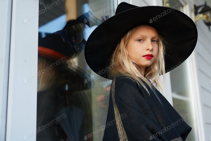 Portrait of Little Witch