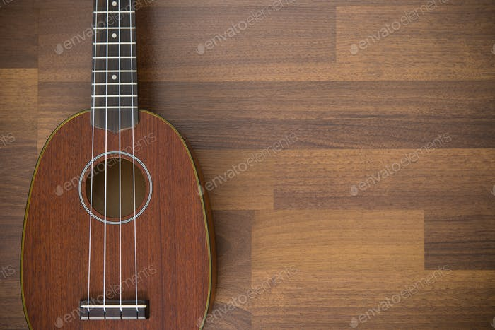 Hawaiian soprano ukulele