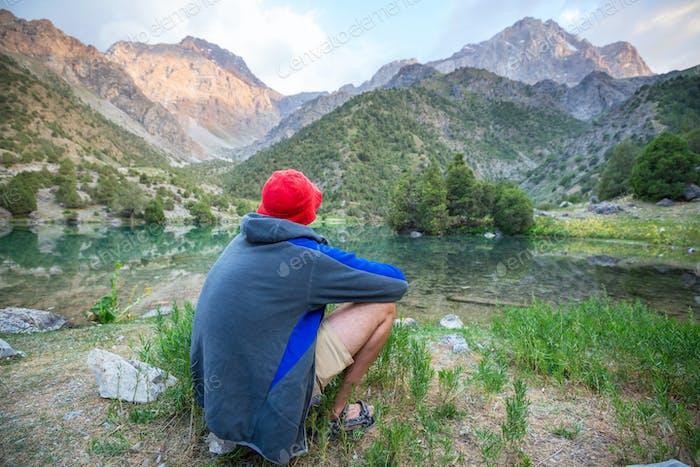 Wanderung im Fann-Gebirge