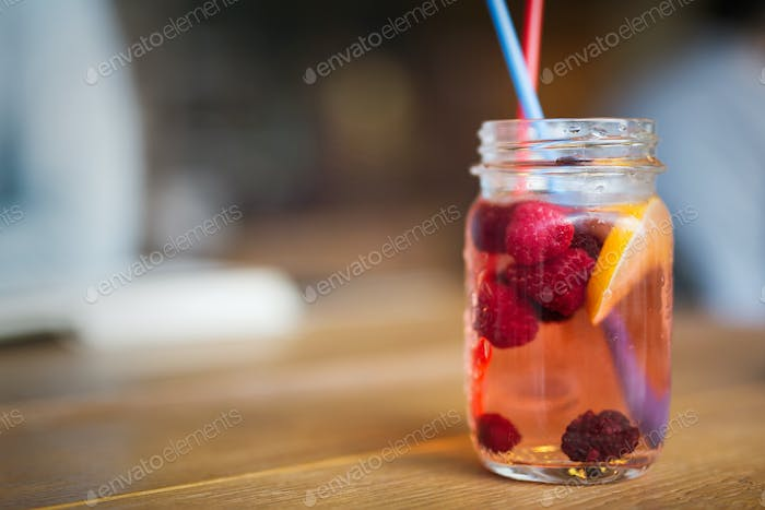 Healthy beverage rich in antioxidants