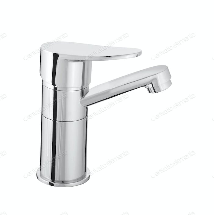 water-supply faucet mixer for water isolated