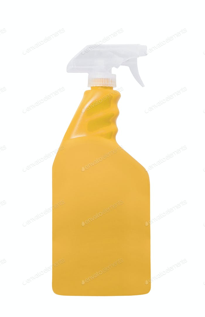 spray bottle isolated on white background