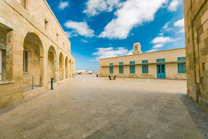 Building of Fort Saint Angelo, Birgu,Malta