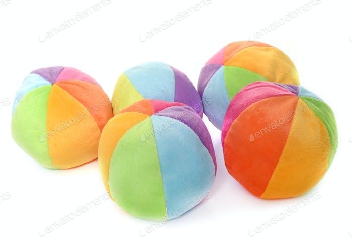 balls in studio