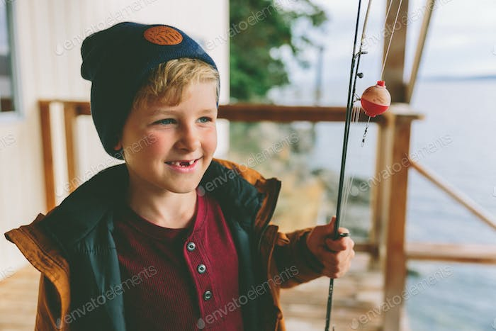 Boy with a Fishing Rod