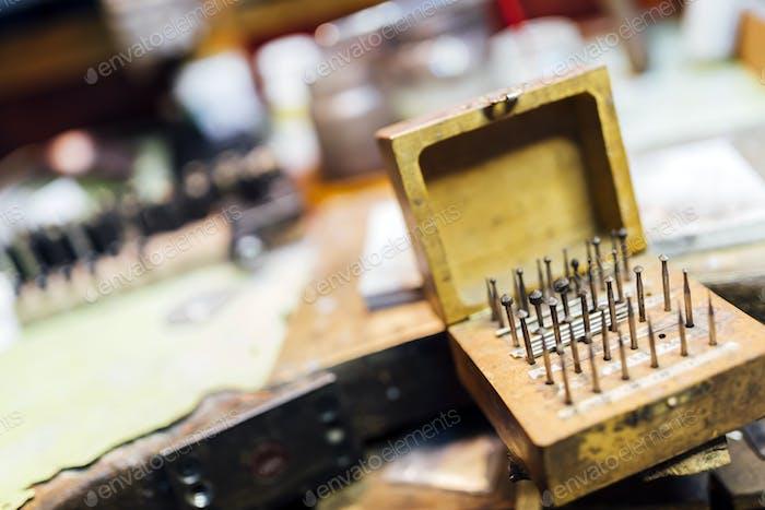 Jewelers' tools manufacturing