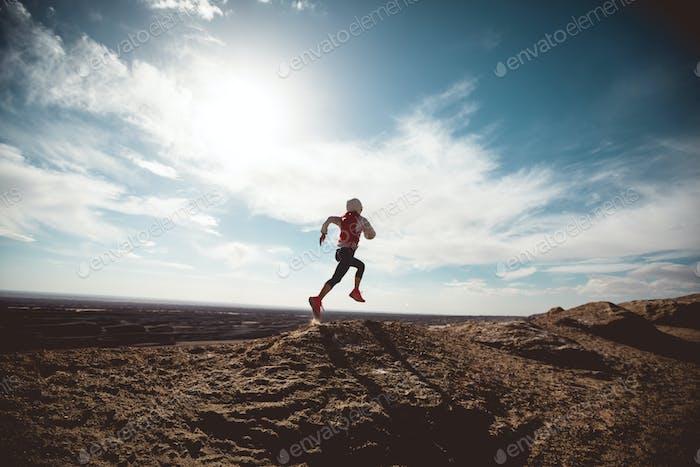 Corriendo en el desierto