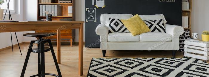 Cozy minimalist flat