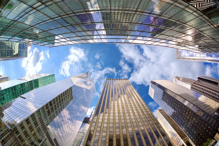 Midtown Manhattan skyscrapers