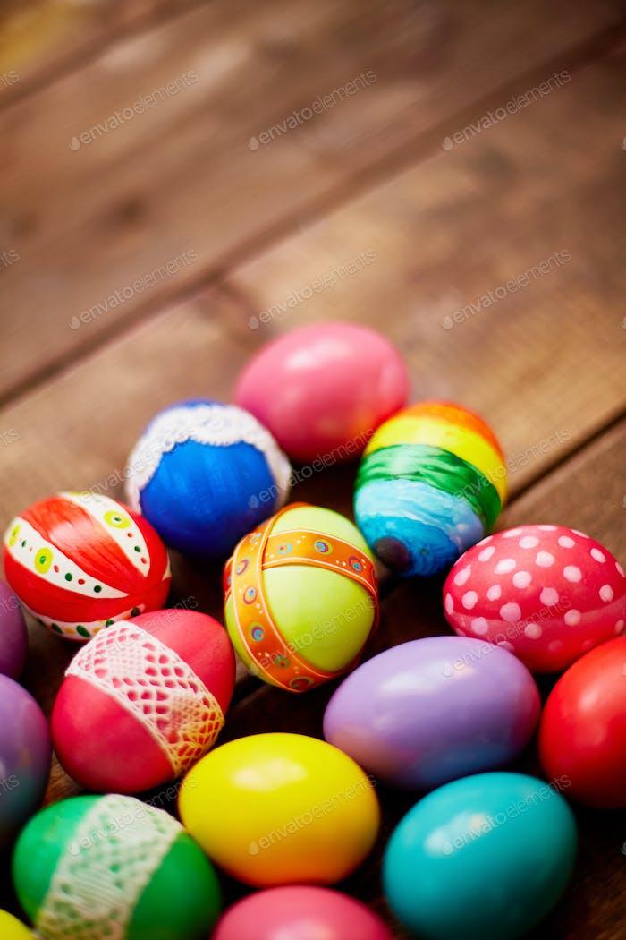 Variations of Easter symbols
