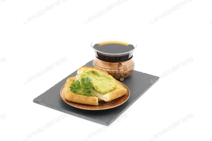 Toast With Avocado Spread
