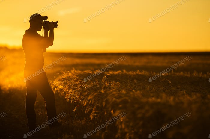 Photographer and the Nature
