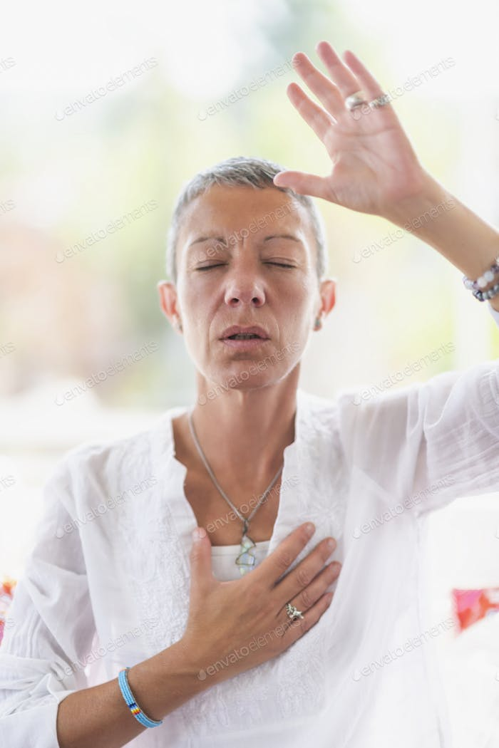 Intuition Meditation Hand Gesture