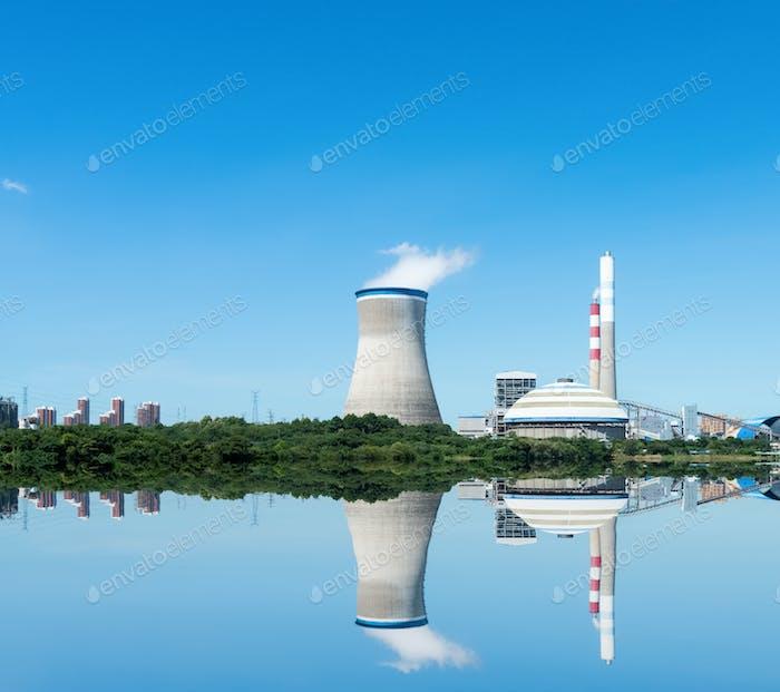 sauberes Wärmekraftwerk