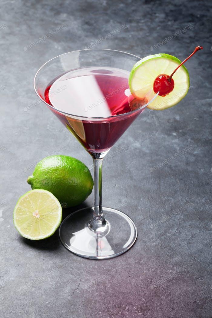 Kosmopolitischer Cocktail