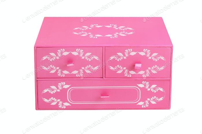Chinese Floral Chest Box