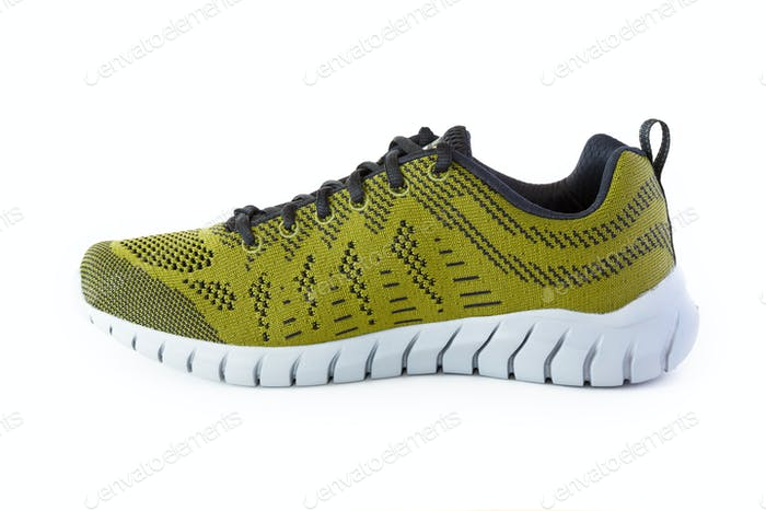 Isolated Unisex Modern Style Sport Shoe
