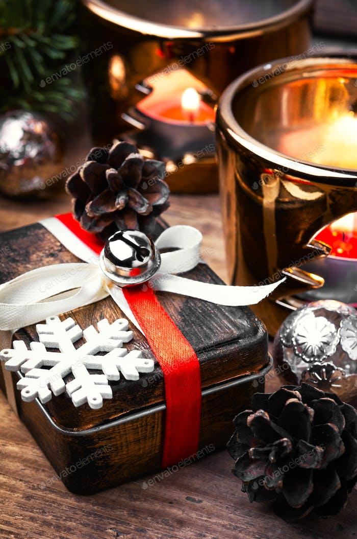 decoraciones Retro Navidad con Navidad