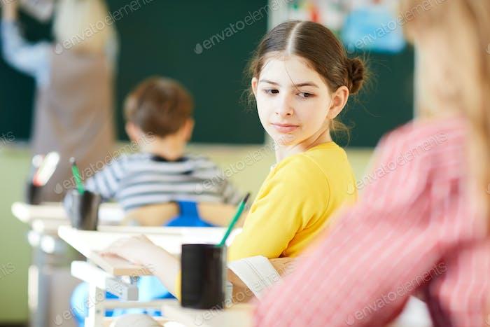 Cheaten bei der Schulprüfung