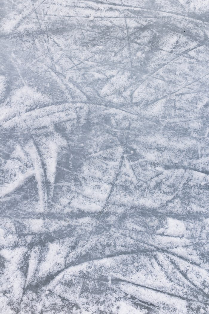 Rink on ice