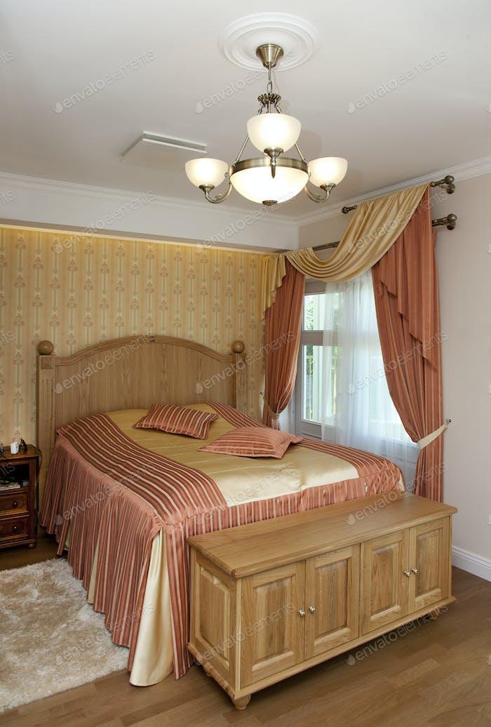 Bedroom in Upscale Home