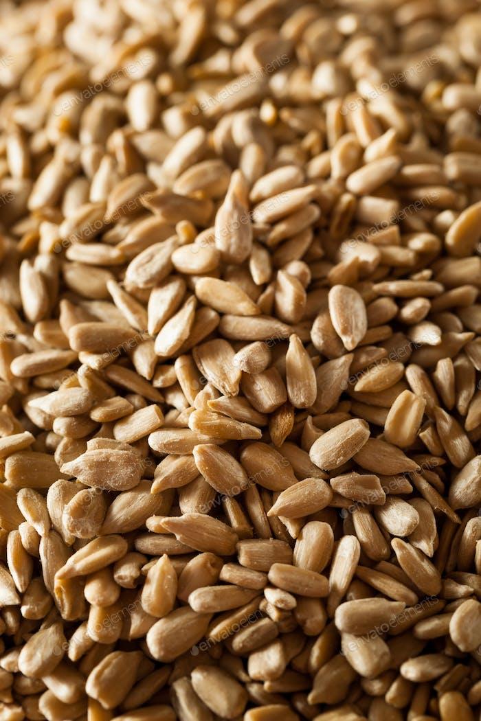 Raw Organic Hulled Sunflower Seeds