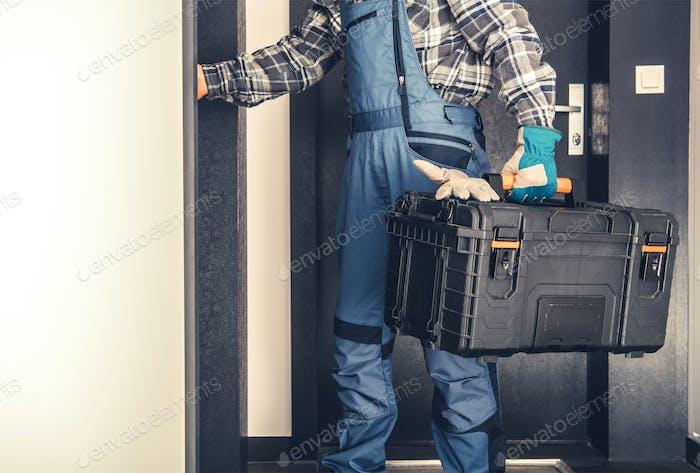 Concepto de servicio puerta a puerta