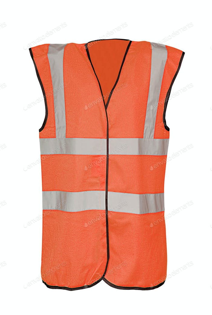 Safety orange vest
