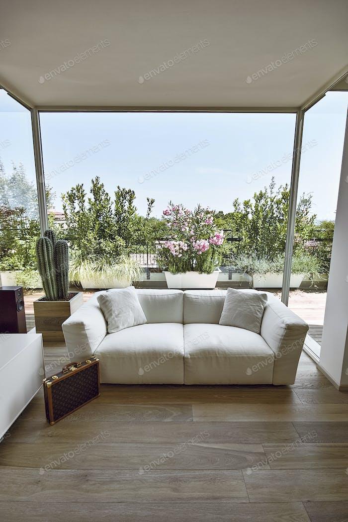 Interiors Shots a Modern Living Room