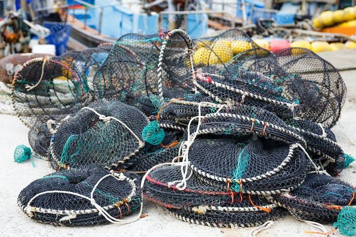Fallen für die Fangfischerei