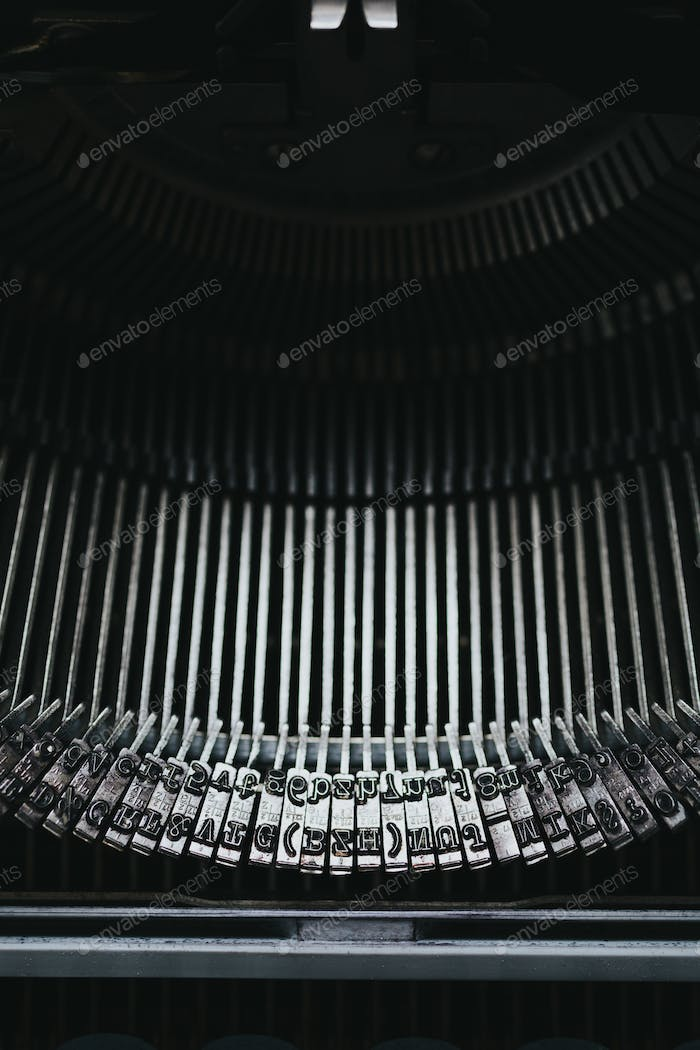 Old typewriter series