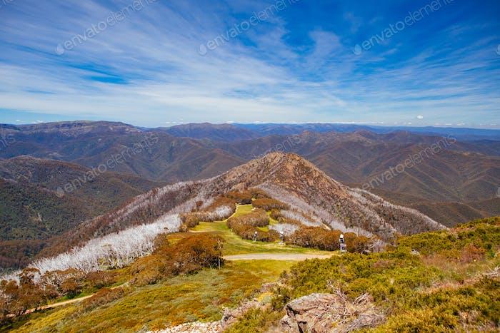 Mt Buller Blick in Australien