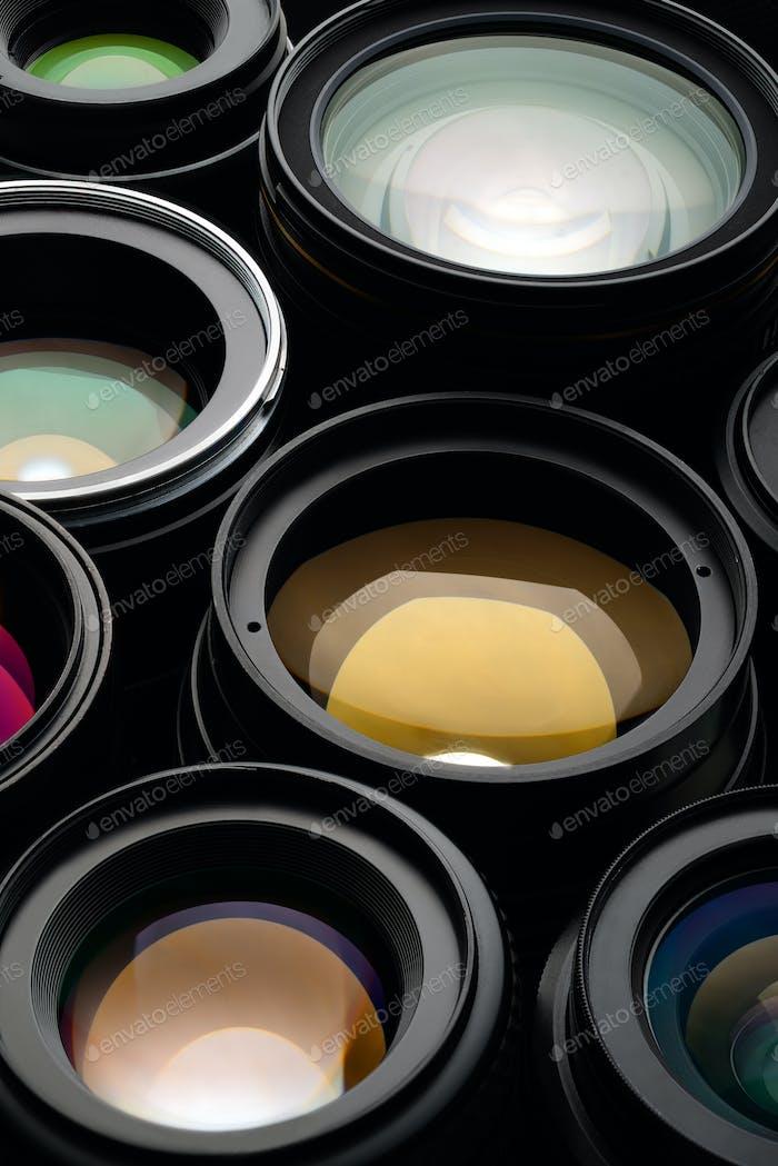 Kameraobjektiv-Set