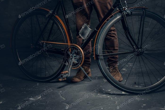 Vintage Single Speed Hipster Fahrrad